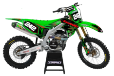 KX/KXF 250/450 EXOTIC RED / GREEN